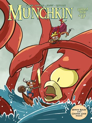 cover image of Munchkin (2015), Issue 17