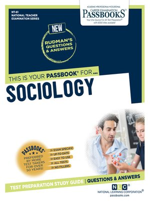 cover image of SOCIOLOGY