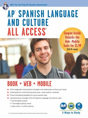 cover image of AP Spanish Language and Culture All Access w/Audio