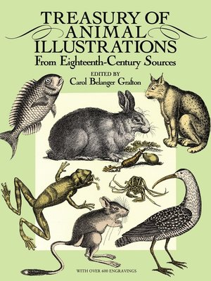 cover image of Treasury of Animal Illustrations