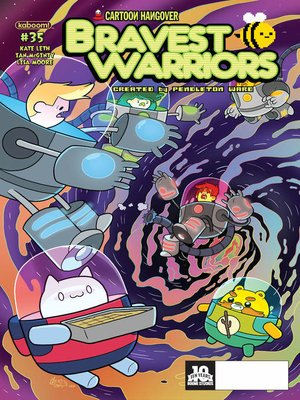cover image of Bravest Warriors #35