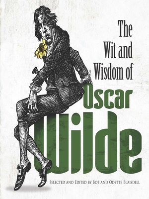 cover image of The Wit and Wisdom of Oscar Wilde