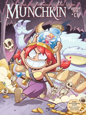 cover image of Munchkin (2015), Issue 13