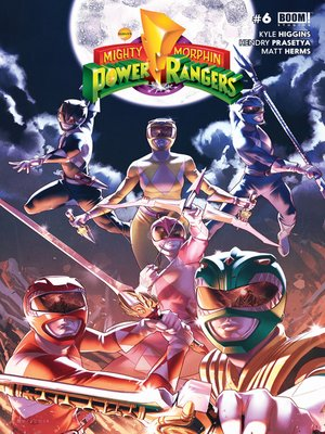 cover image of Mighty Morphin Power Rangers #6