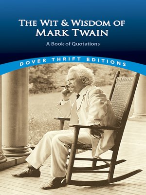 cover image of The Wit and Wisdom of Mark Twain