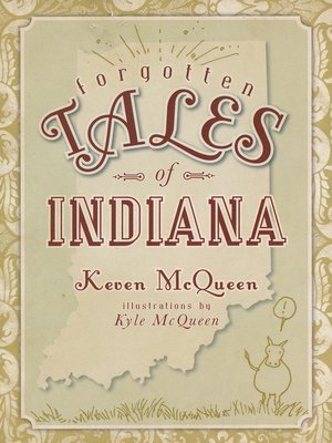 cover image of Forgotten Tales of Indiana