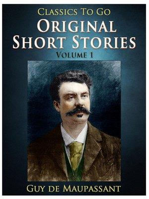 cover image of Original Short Stories