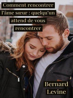 cover image of Comment rencontrer l'âme sœur