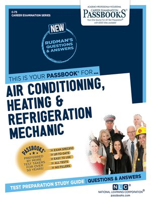 cover image of Air Conditioning, Heating and Refrigeration Mechanic