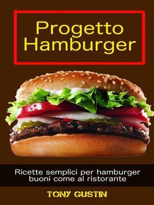 cover image of Progetto Hamburger
