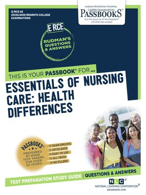 cover image of Essentials of Nursing Care
