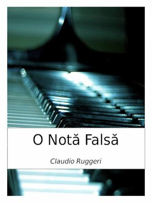 cover image of O Nota Falsa