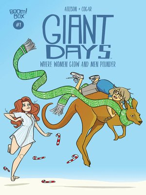 cover image of Giant Days: Where Women Glow and Men Plunder