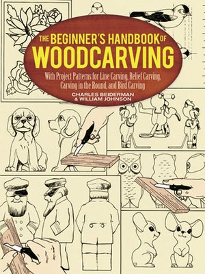 cover image of The Beginner's Handbook of Woodcarving