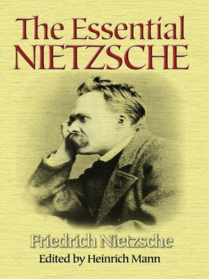 cover image of The Essential Nietzsche