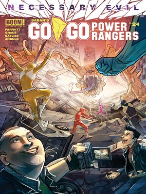 cover image of Saban's Go Go Power Rangers (2017), Issue 24