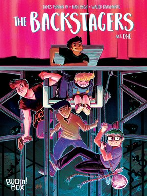 cover image of The Backstagers (2016), Issue 1