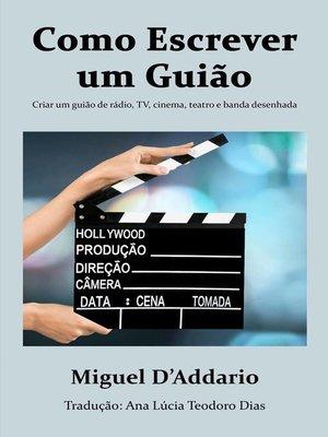 cover image of Como escrever um Guião