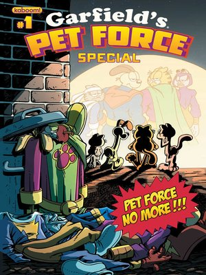 cover image of Garfield Pet Force 2013 Special