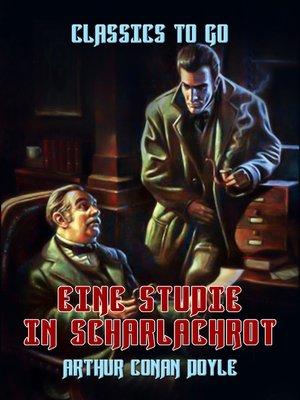 cover image of Eine Studie in Scharlachrot