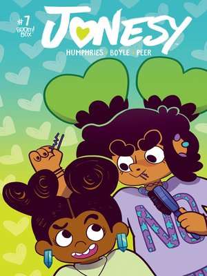 cover image of Jonesy (2016), Issue 7