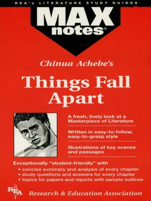 cover image of Things Fall Apart: MAXNotes Literature Guide