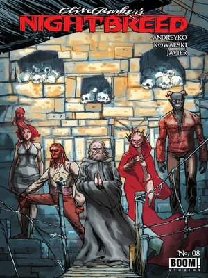 cover image of Clive Barker's Nightbreed (2014), Issue 8