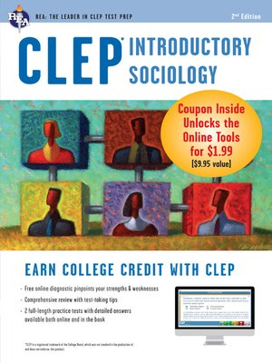 cover image of CLEP Introductory Sociology with Online Practice Exams