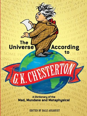 cover image of The Universe According to G. K. Chesterton