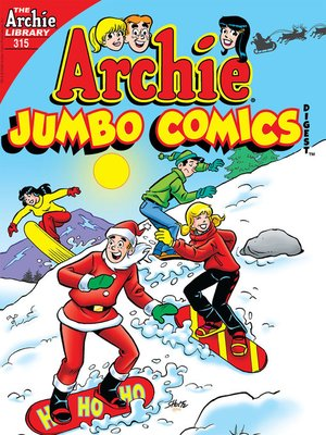cover image of Archie Double Digest #315