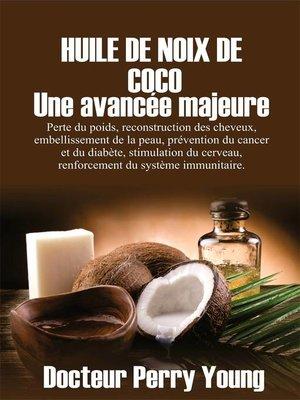 cover image of HUILE DE NOIX DE COCO