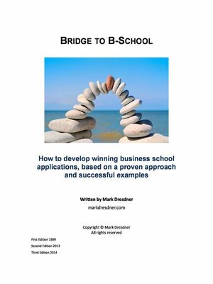 cover image of Bridge to Business School