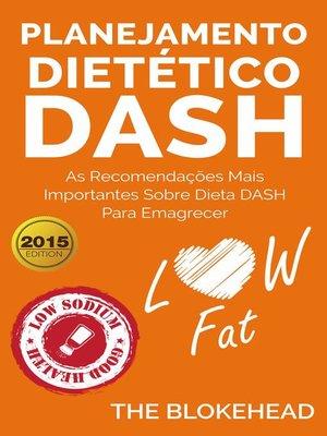 cover image of Planejamento dietético Dash