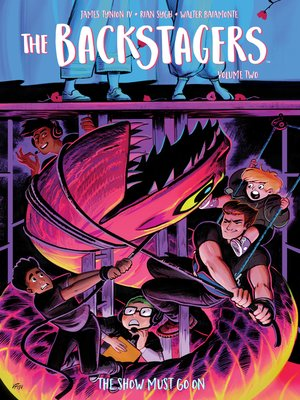 cover image of The Backstagers (2016), Volume 2