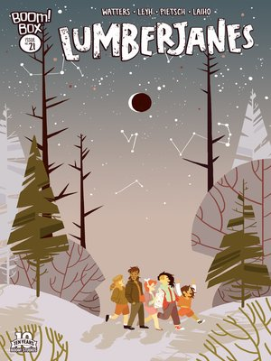 cover image of Lumberjanes #21