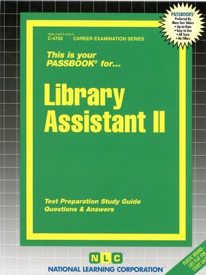 cover image of Library Assistant II
