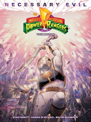 cover image of Mighty Morphin Power Rangers Volume 11