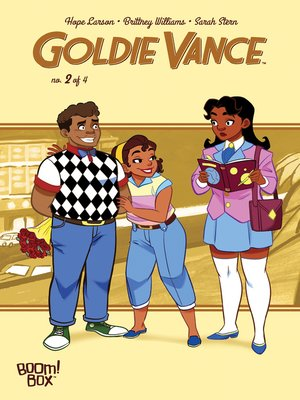 cover image of Goldie Vance #2