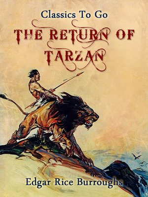 cover image of The Return of Tarzan