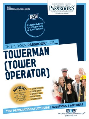 cover image of Towerman (Tower Operator)