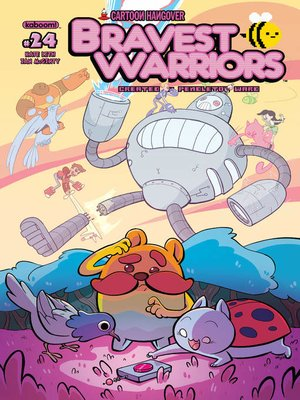 cover image of Bravest Warriors (2012), Issue 24