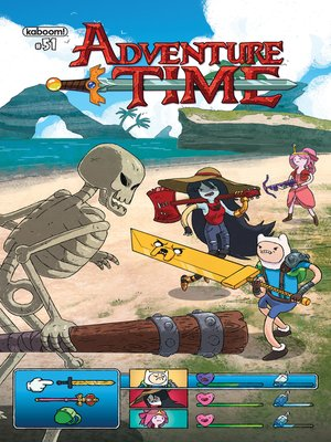 cover image of Adventure Time #51
