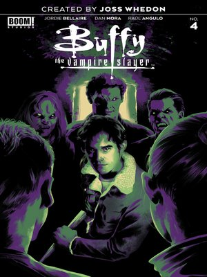 cover image of Buffy the Vampire Slayer (2019), Issue 4