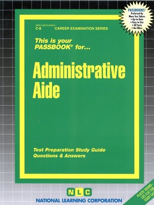 cover image of Administrative Aide