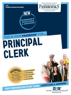cover image of Principal Clerk