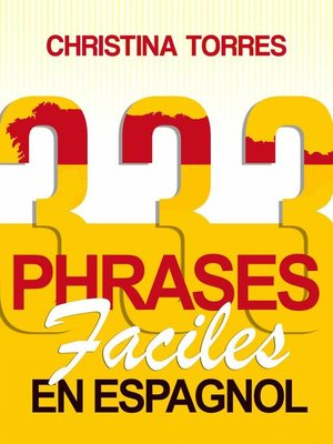 cover image of 333 phrases faciles en espagnol