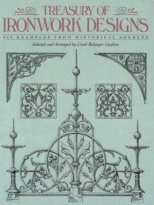 cover image of Treasury of Ironwork Designs