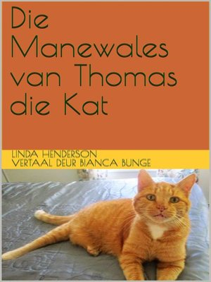 cover image of Die Manewales van Thomas die Kat