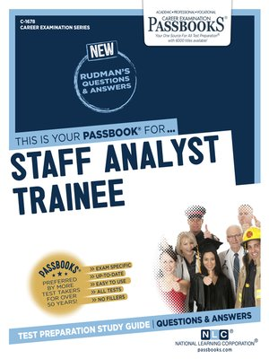 cover image of Staff Analyst Trainee