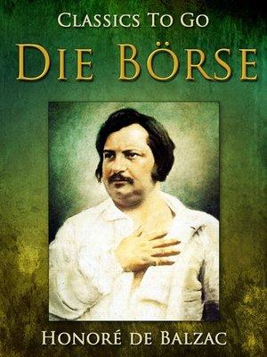 cover image of Die Börse